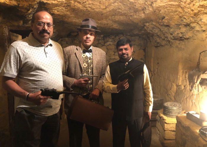 Tour to Odessa Catacombs