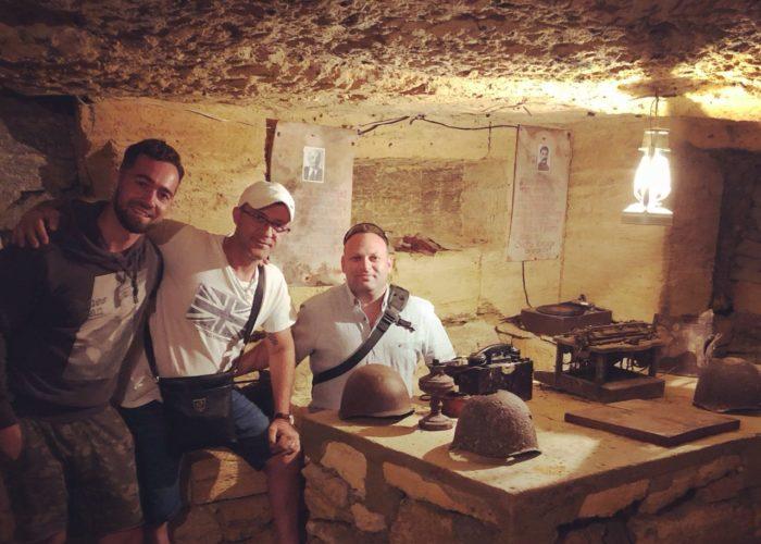 Odessa tour to Catacombs